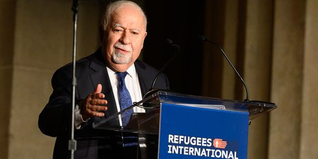 Jorge Sampaio and Vartan Gregorian Honored by Refugees International
